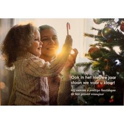 Ansichtkaart feestdagen