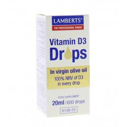 Vitamine D3 druppels
