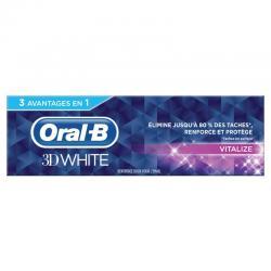 Tandpasta 3D white vital fresh