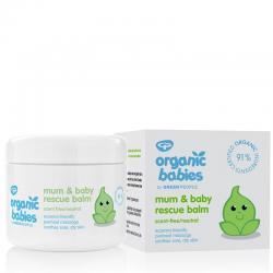 Organic babies mum & baby rescue balm scent free