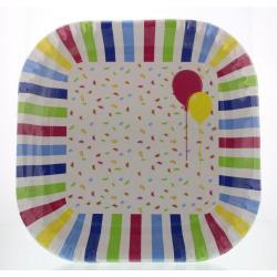 Borden ballon & confetti 22 cm