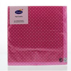 Servet brook pink 33 x 33 cm