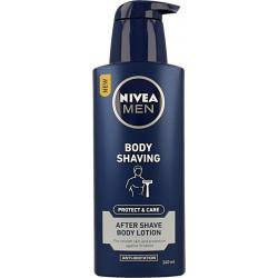 Men protect & care aftershave body lotion