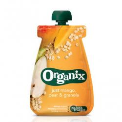 Just oatmeal pear granola 6-36 maanden bio