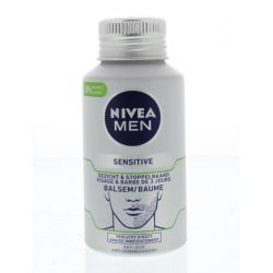 Men sensitive skin & stubble balm