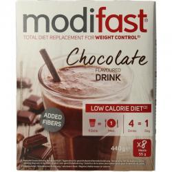 Intensive milkshake chocolade 8 zakjes