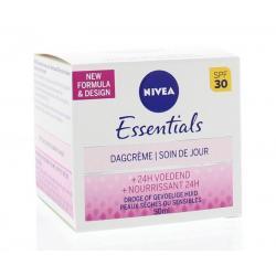 Essentials dagcreme droge/gevoelige huid SPF30