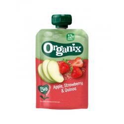 Just apple strawberry quinoa 12+ maanden bio