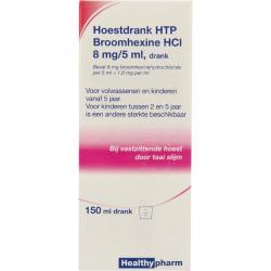 Broomhexine hoestdrank 8 mg