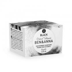 Tandpoeder zwart active charcoal