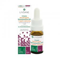 Neusdruppels xylometazoline HCL 1 mg/ml