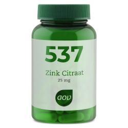 537 Zink citraat 25 mg