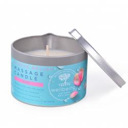 Massage candle stress relief