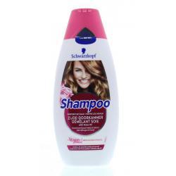 Shampoo zijde doorkammer