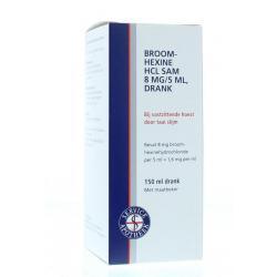 Broomhexine HCL 8 mg/5 ml