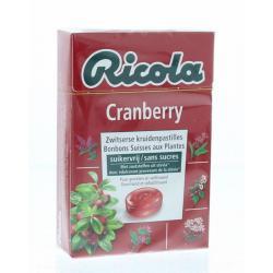 Cranberry suikervrij