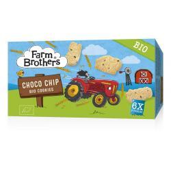 Kids chocolate chip cookies 6 x uitdeelzakjes bio