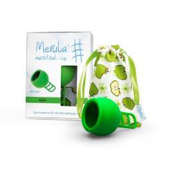 Menstruatiecup apple groen