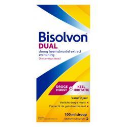 Dual droge hoest/keelirritatie siroop