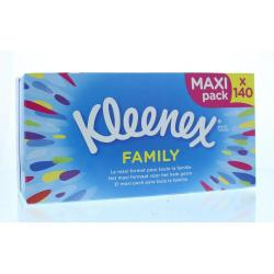 Family box tissues