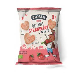 Strawberry hearts 8+ maanden bio