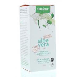 Aloe vera gezichtscreme voedend