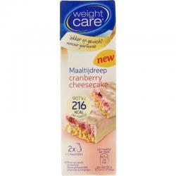 Maaltijdreep cranberry cheesecake