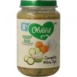 Courgette witvis rijst 8M13