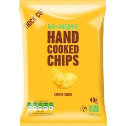Chips handcooked kaas & ui bio