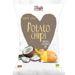Chips kokosolie gebakken bio