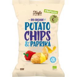 Chips paprika no plastic bio