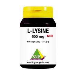 L-lysine 500 mg puur
