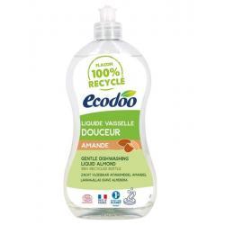 Afwasmiddel en handzeep zacht 2 in 1 amandel