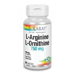 L-Arginine L-Ornithine 750 mg