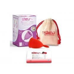Menstruatiecup classic rood- S
