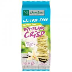 Witte chocoladetablet crisp gluten- en lactosevrij
