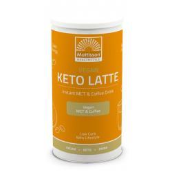 Vegan keto latte instant MCT & coffee drink