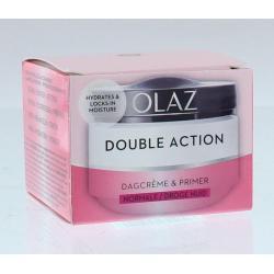 Double action dagcreme normale/droge huid