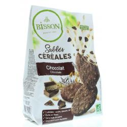 Zandkoekjes chocolade & granen bio