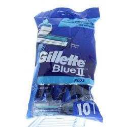 Blue II plus wegwerpscheermesjes