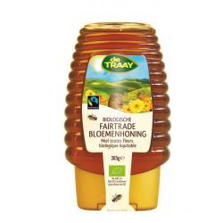 Bloemenhoning knijpfles Fairtrade