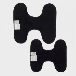 Inlegkruisjes wasbaar zonder sluiting zwart
