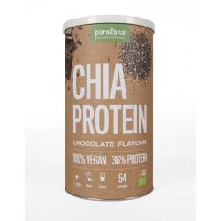 Chia proteine chocolade vegan bio