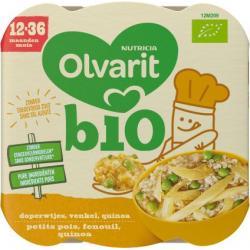 Doperwten venkel quinoa 12M209 bio