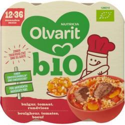 Bulgur tomaat rundvlees 12M210 bio