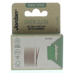Green clean tandenstoker dun