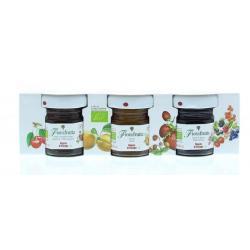 Fruitbeleg mix 25 gram bio