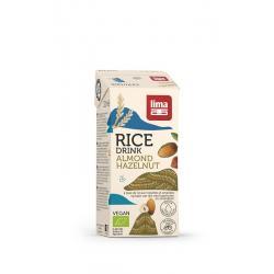 Rice drink hazelnoot-amandel bio