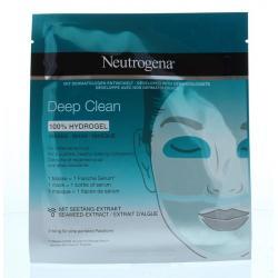 Detox hydrogel mask