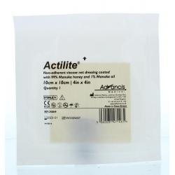Actilite manuka non adhesive 10 x 10